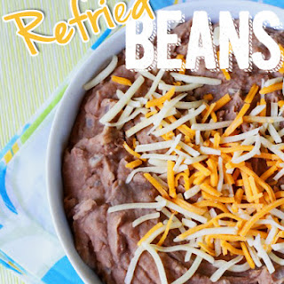 Refried Beans.