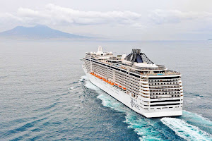 European-designed and luxury oriented, MSC Fantasia is at home sailing in the Mediterranean.