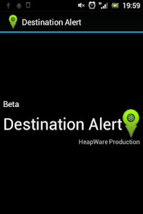 Destination Alert Beta- screenshot thumbnail