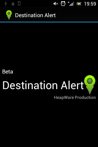 Destination Alert Beta- screenshot