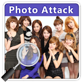 Girls Generation Photo Attack