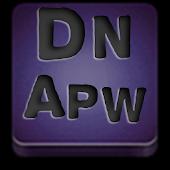 Apw Theme Dark naps purple