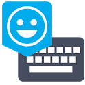 Emoji Keyboard-UK English Dict icon