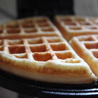 Crisp and Easy Waffles.