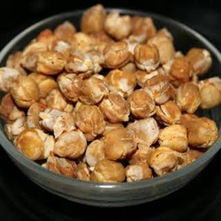CrockPot Crunchy Roasted Garbanzo Beans.