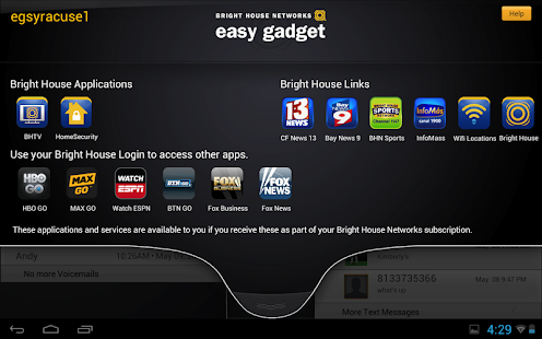 BHN Easy Gadget - screenshot thumbnail