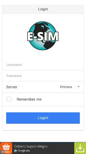 e-Sim Mobile