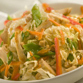Easy Asian Chicken Salad.