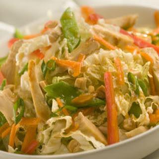 Easy Asian Chicken Salad.