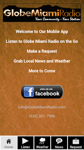 Globe Miami Radio - screenshot thumbnail