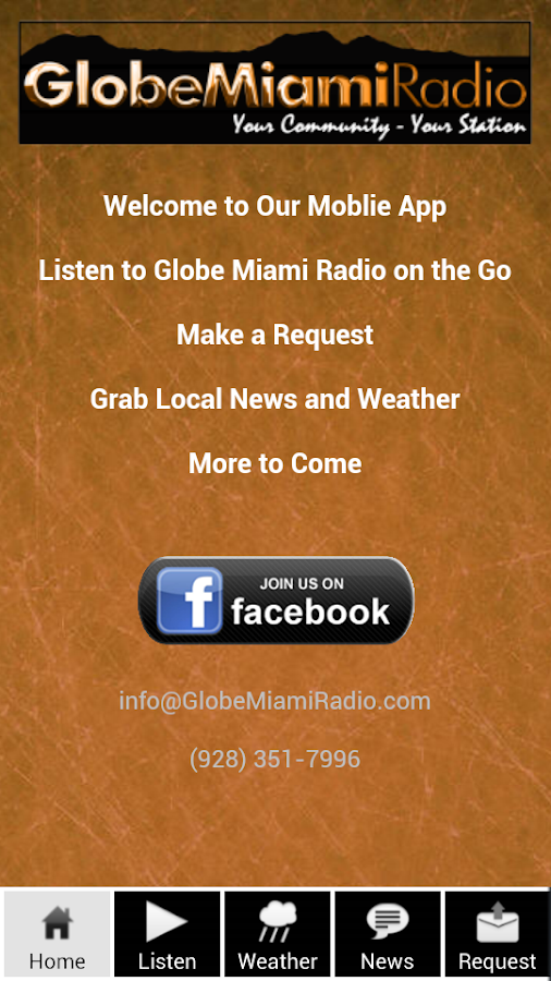 Globe Miami Radio - screenshot