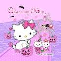 Charmmy Kitty Pink Halloween icon