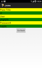 secure notes screenshot 3