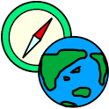aGPSCompass – with GPS Logger logo