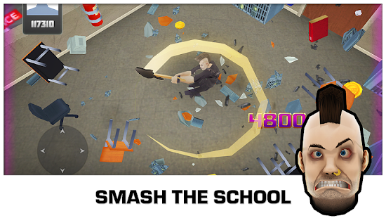 Smash the School - Stress Fix!- screenshot thumbnail