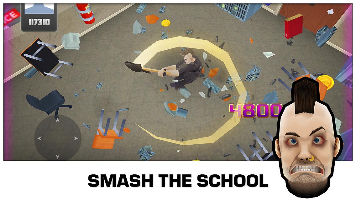 Smash the School - Stress Fix!- screenshot