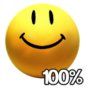Smile Battery Widget icon