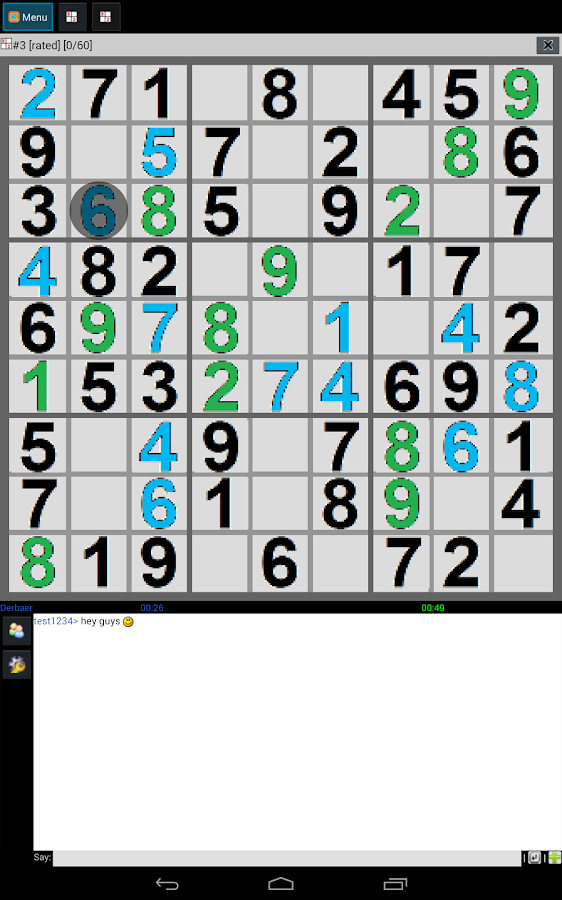 FREE SUDOKU MULTIPLAYER- screenshot