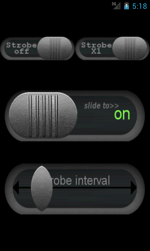 Strobe LED Flashlight - screenshot