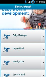 Baby Brain Development Guide screenshot