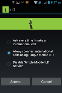 Simple Mobile International - screenshot thumbnail