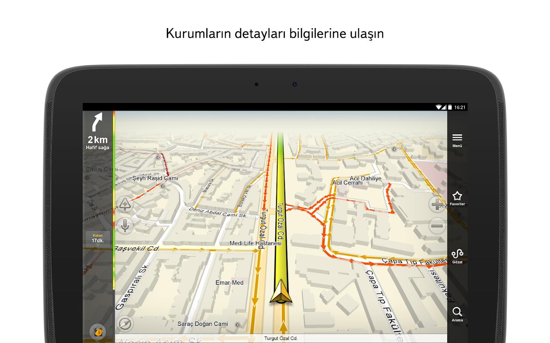 Yandex.Navigasyon - screenshot
