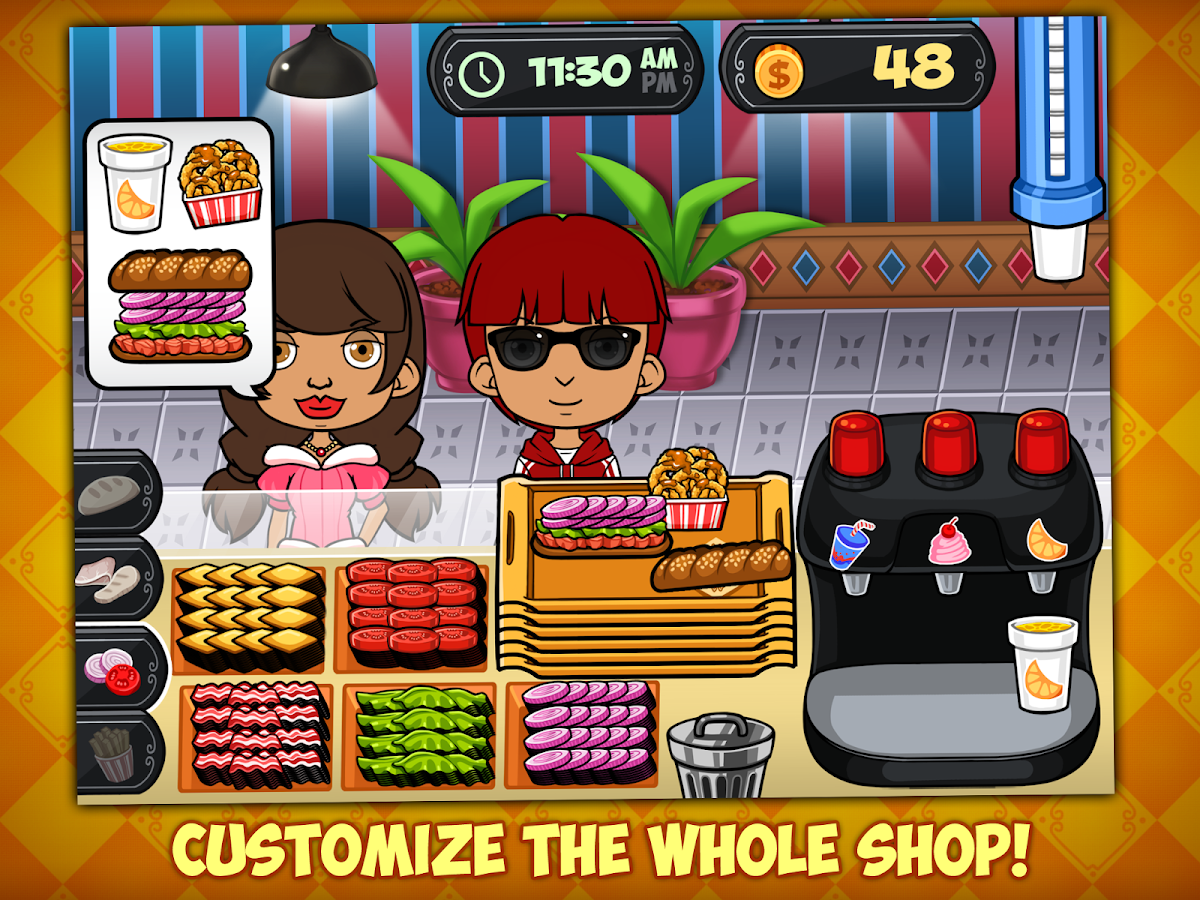 My Sandwich Shop- screenshot