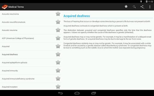 Medical Terminology (OFFLINE) Screenshot