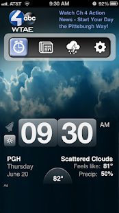 Alarm Clock Pittsburgh WTAE 4 - screenshot thumbnail