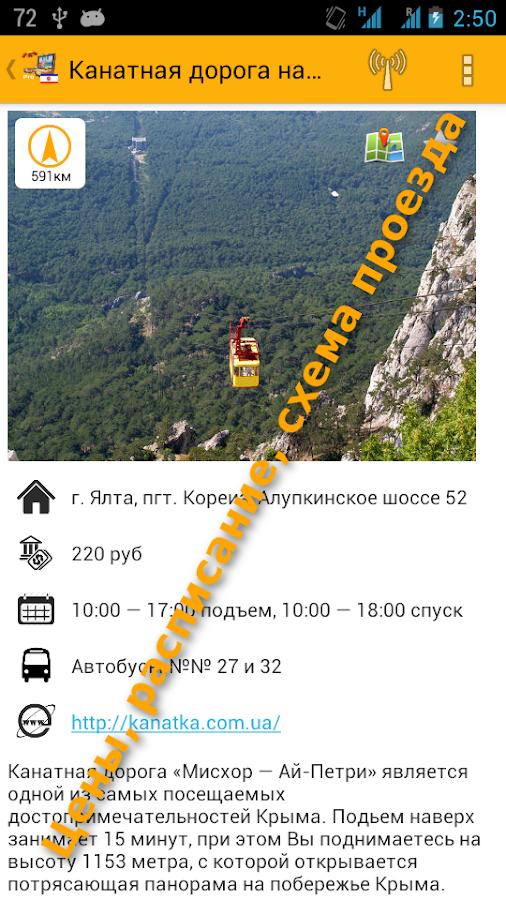Крым путеводитель карта маршрутов карт