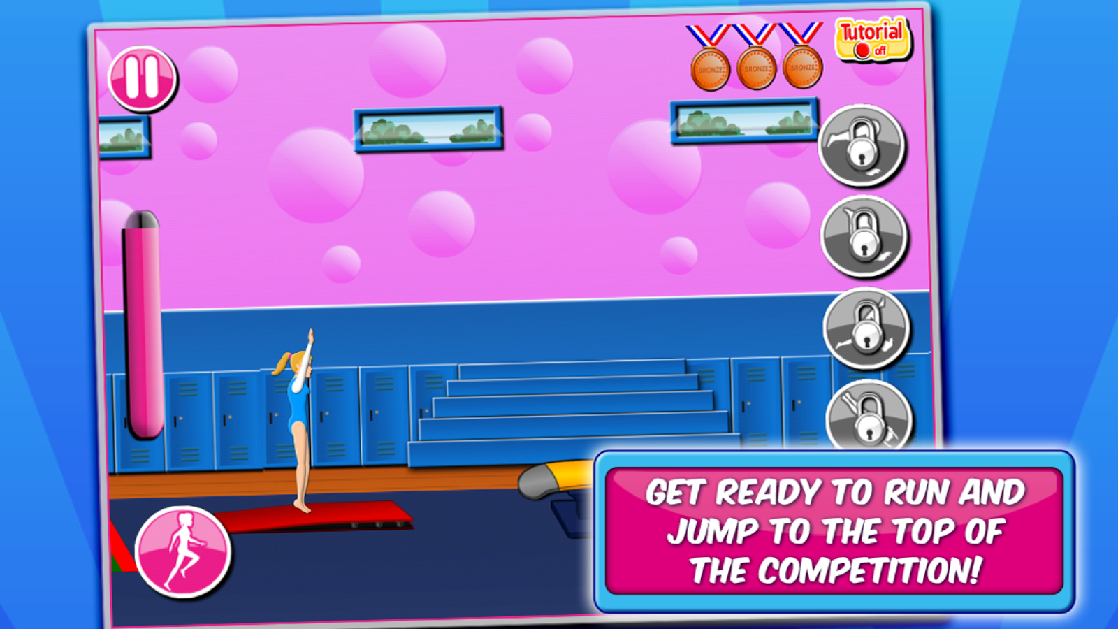 Gymnastics Events - screenshot