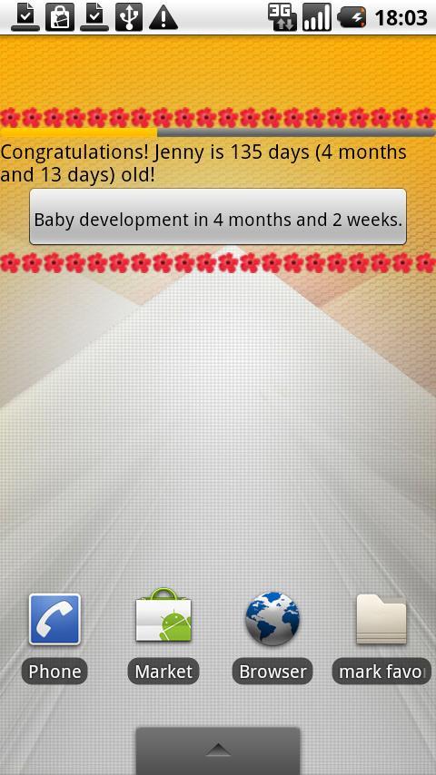 Baby Calendar First Year- screenshot