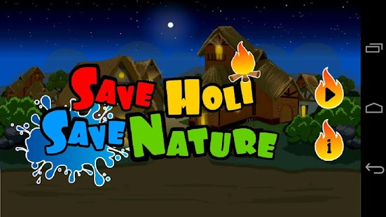 Save Holi Save Nature Game