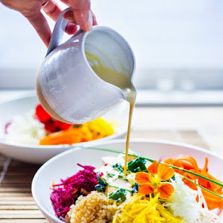 Sunshine Bowl w/ Sunflower Seed Tahini Sauce