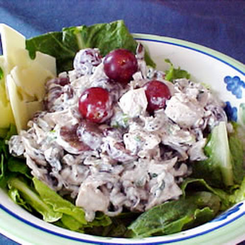 Wild Rice Salad With Grapes And Almonds Recipes   Yummly