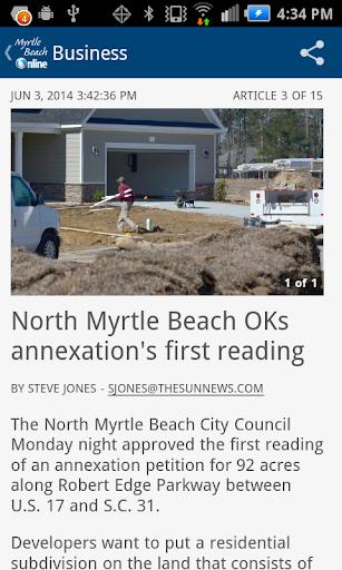 The Sun News - Myrtle Beach SC