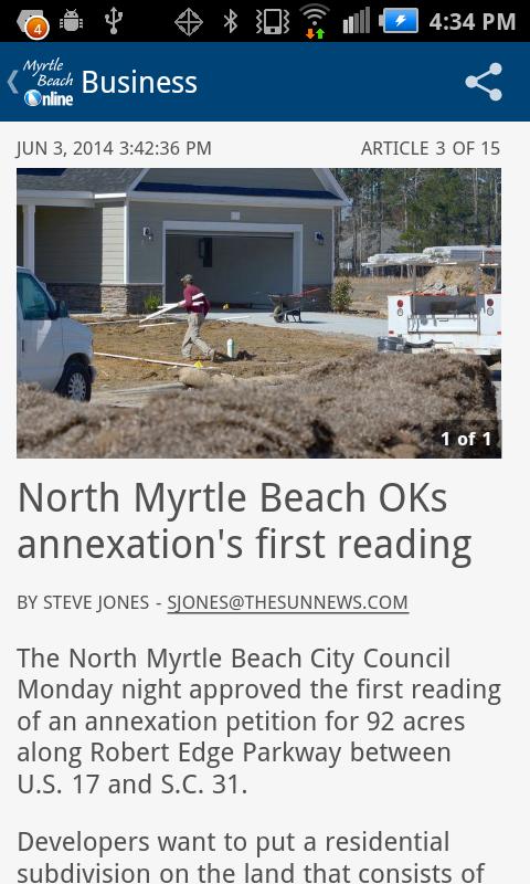 Sun Newspaper Myrtle Beach Sc