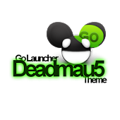 Go Launcher deadmau5 Theme