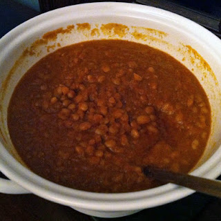Look Ma, no ketchup! Better-than-canned baked beans..