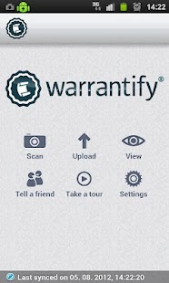 Warrantify- screenshot thumbnail