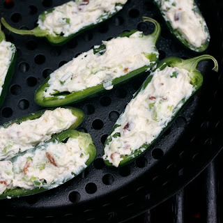 Grilled Stuffed Jalapeños.