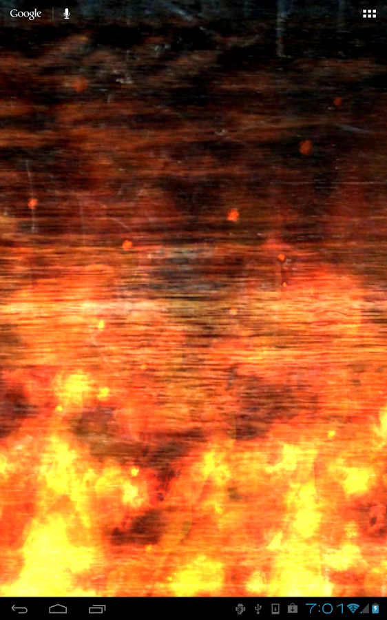 KF Flames Live Wallpaper - screenshot