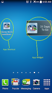 Unoffic Countdown 4 Disney Wdw App Report On Mobile Action
