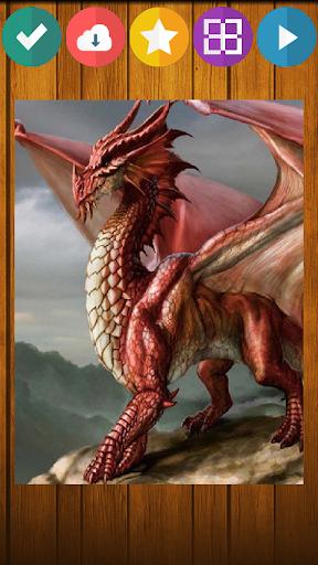 龍のパズルゲーム