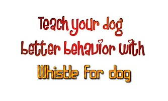 Screenshot of Whistle for dog