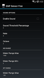 EMF Sensor Free- screenshot thumbnail