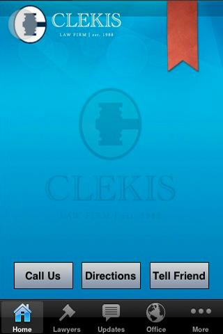 The Clekis Law Firm- screenshot