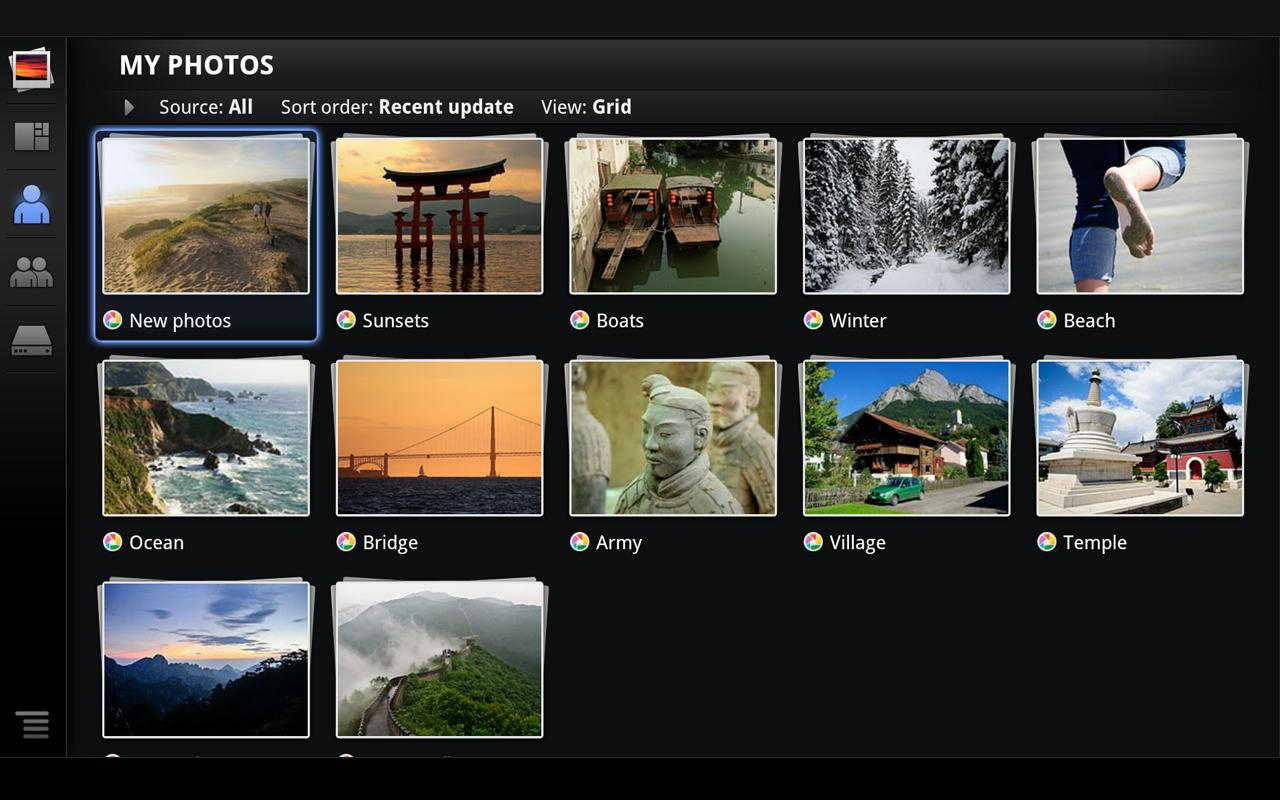 Photos for Google TV - screenshot