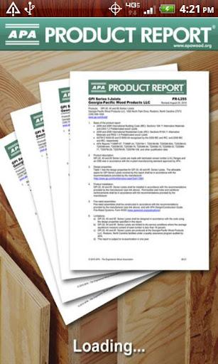APA Product Reports