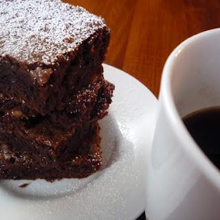Chocolate & Coffee Brownies.